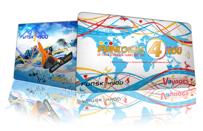 Cartes FunLoisirs4You Ski