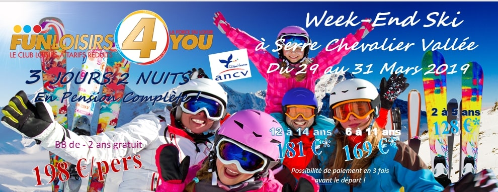 WEEK-END SKI A SERRE CHEVALIER VALLEE - 190